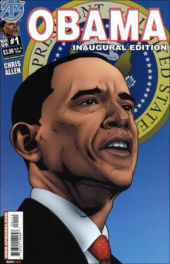 Obama Inaugural Edition 1-A by Antarctic Press