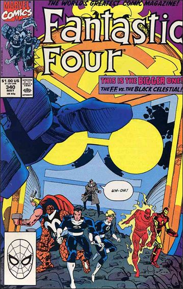 Fantastic Four (1961) 340-A by Marvel