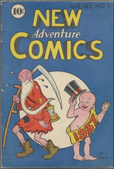 New Adventure Comics 12-A by DC