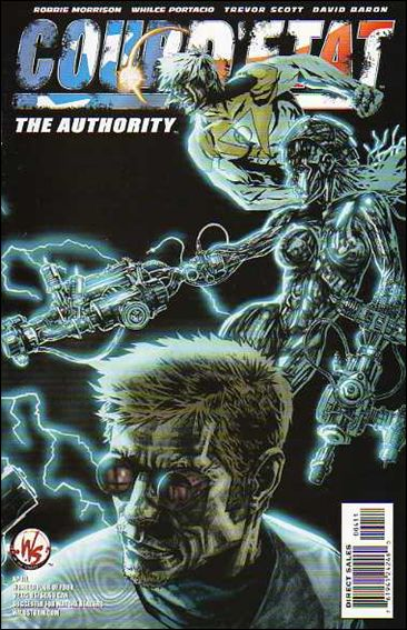 Coup D'Etat: The Authority 1-B by WildStorm