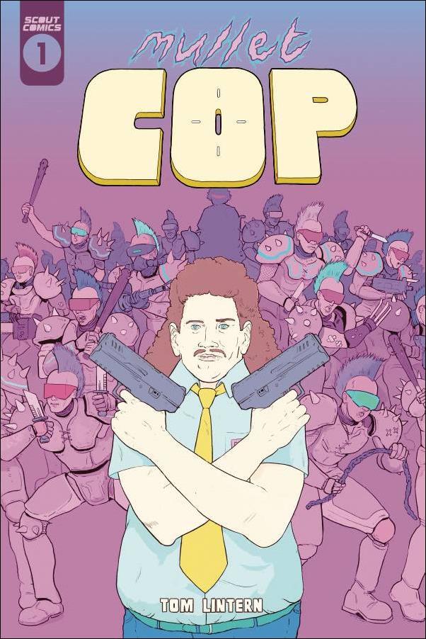 Mullet Cop 1-A by Scout Comics