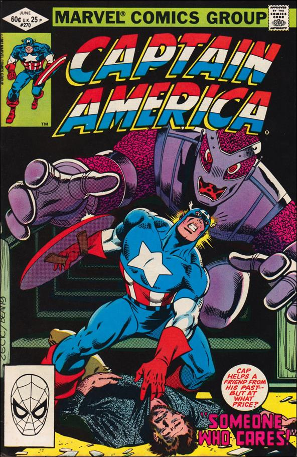 Captain America (1968) 270-A by Marvel