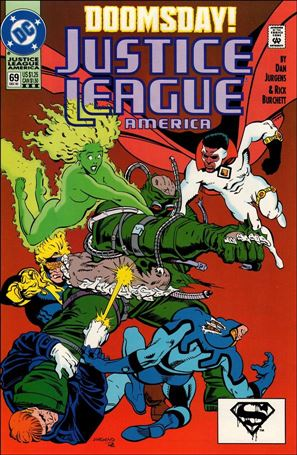 Justice League America 69-C