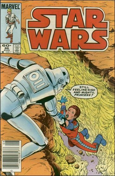 Star Wars (1977) 86-A by Marvel