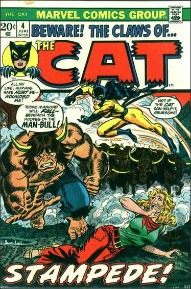 Cat (1972) 4-A by Marvel