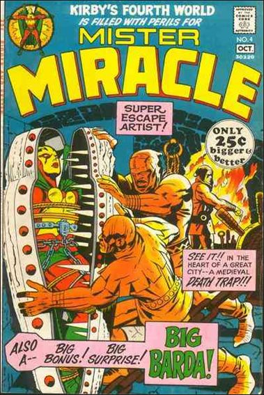 Mister Miracle (1971) 4-A by DC