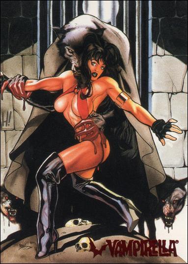 Visions of Vampirella 53-A by Topps