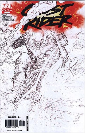 Ghost Rider (2006) 1-C by Marvel