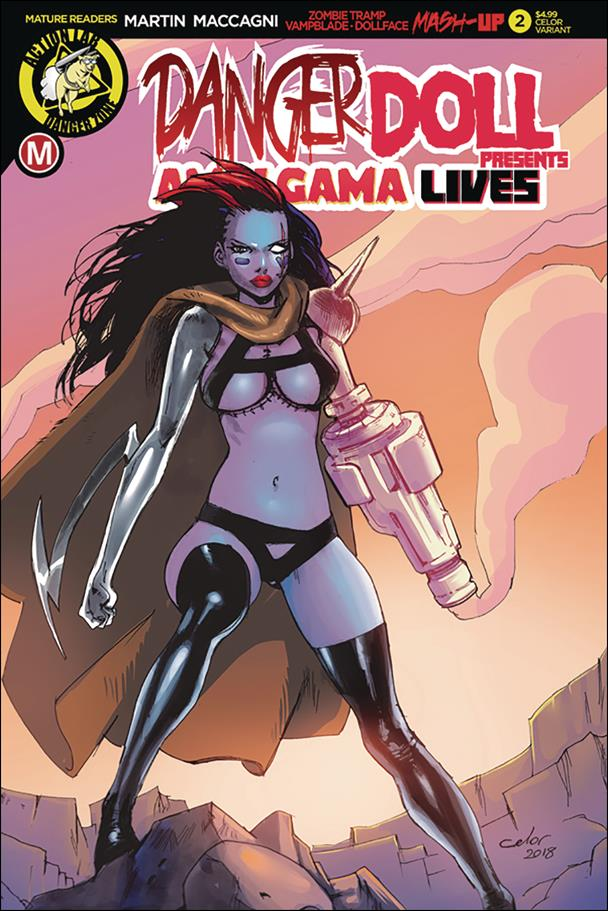 Danger Doll Squad Presents Amalgama Lives 2-C by Action Lab: Danger Zone