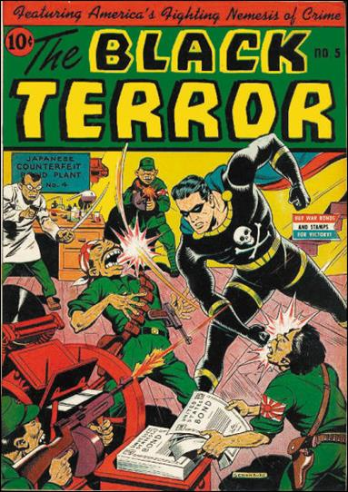 Black Terror (1942) 5-A by Nedor