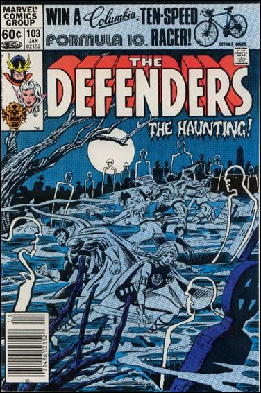 Defenders (1972) 103-A by Marvel