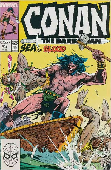 Conan the Barbarian (1970) 218-A by Marvel