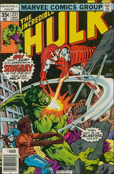 Incredible Hulk (1968) 221-A by Marvel