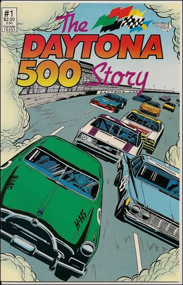 Daytona 500 Story Special 1-A by Vortex Comics
