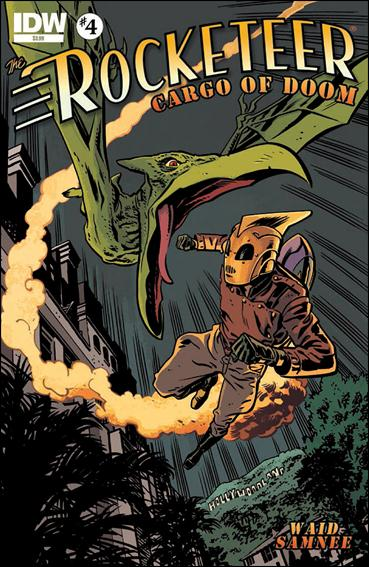Rocketeer: Cargo of Doom 4-A by IDW
