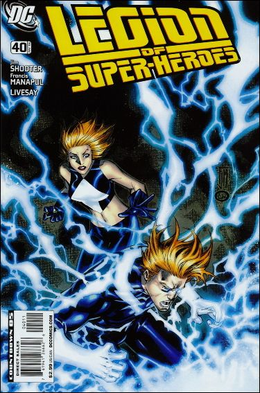 Legion of Super-Heroes (2005) 40-A by DC