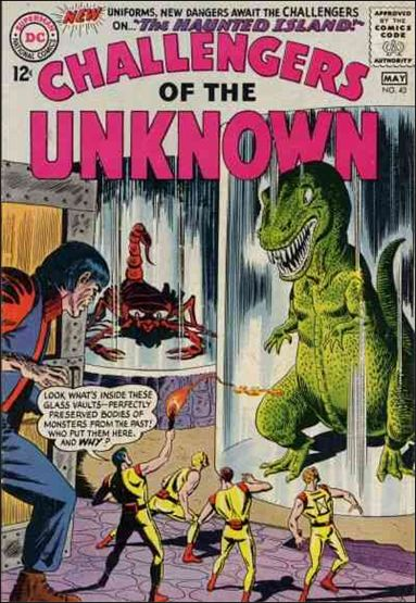 Challengers of the Unknown (1958) 43-A by DC