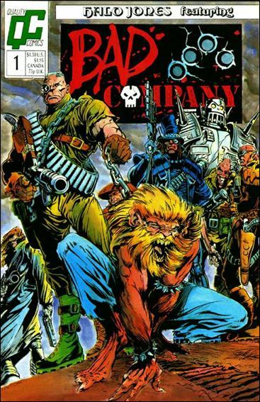 Bad Company 1-A by Quality Comics
