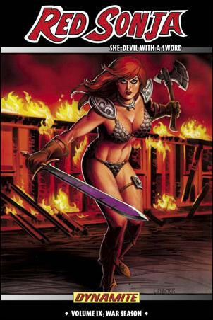 Red Sonja: She Devil with a Sword 9-A by Dynamite Entertainment