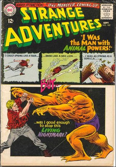 Strange Adventures (1950) 180-A by DC