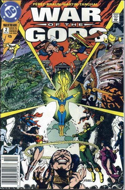 War of the Gods 2-A by DC