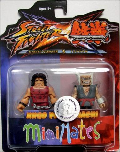Street Fighter X Tekken Minimates (Exclusives) Hugo vs Heihachi by Diamond Select