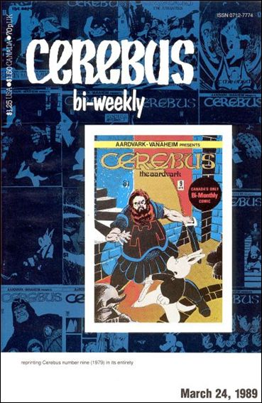 Cerebus Bi-Weekly 9-A by Aardvark-Vanaheim