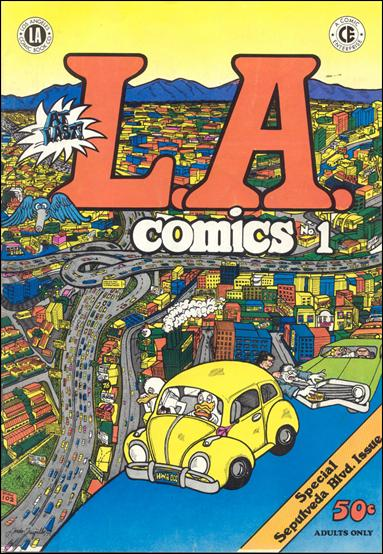 L.A. Comics 1-A by Los Angeles Comic Book Company