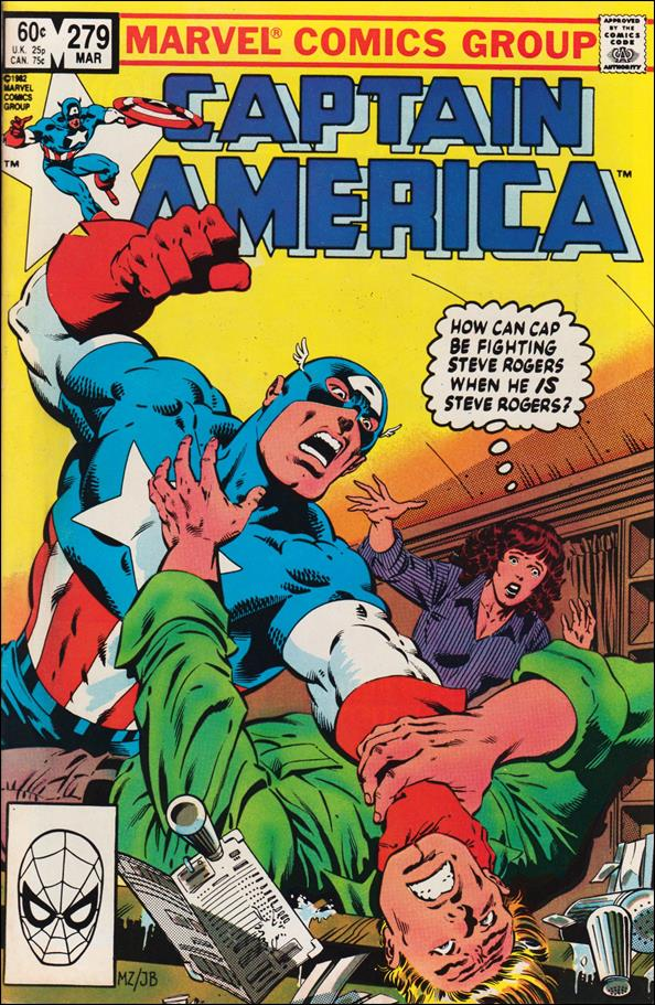 Captain America (1968) 279-A by Marvel