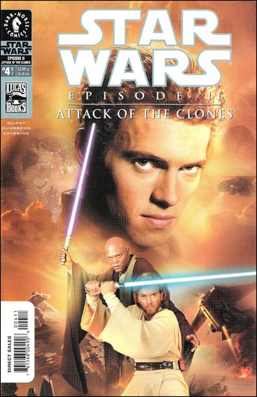Star Wars: Episode II - Attack of the Clones 4-B by Dark Horse