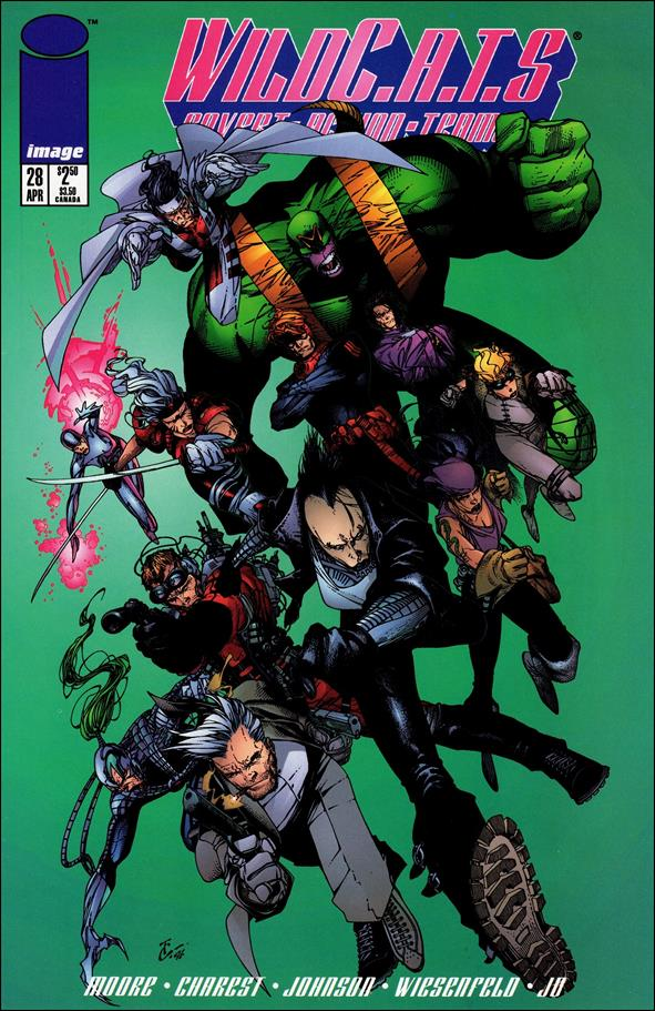 WildC.A.T.s: Covert Action Teams 28-A by Image