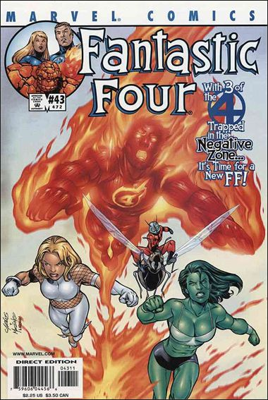 Fantastic Four (1998) 43-A by Marvel