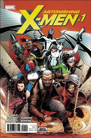 Astonishing X-Men (2017) 1-A