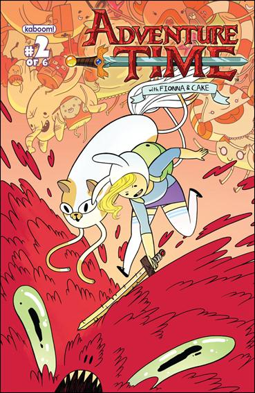 Adventure Time with Fionna and Cake 2-B by Kaboom!