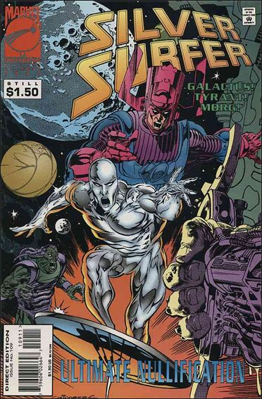 Silver Surfer (1987) 109-A by Marvel