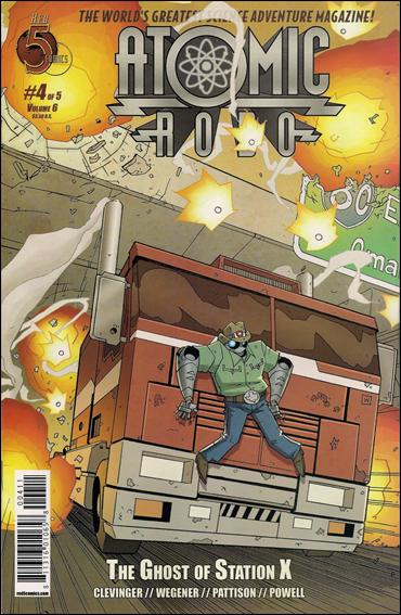 Atomic Robo and the Ghost of Station X 4-A by Red 5 Comics