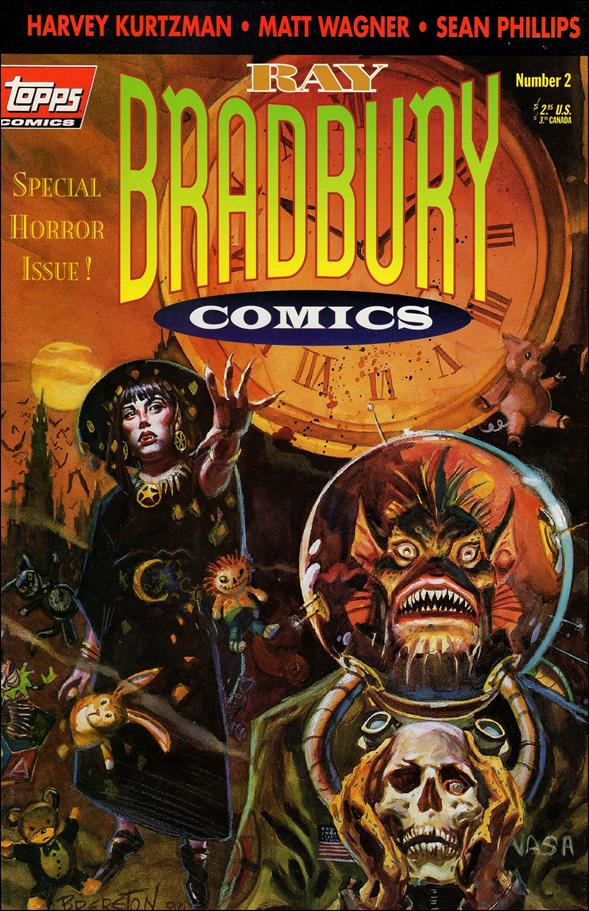 Ray Bradbury Comics 2-A by Topps