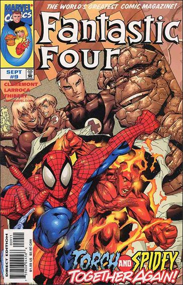 Fantastic Four (1998) 9-A by Marvel