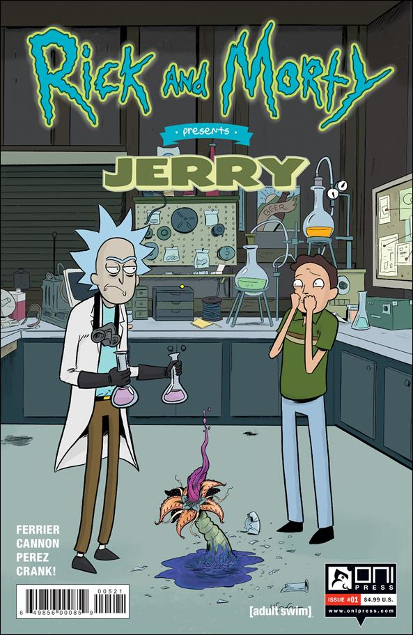 Rick and Morty Presents: Jerry 1-B by Oni Press
