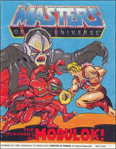 Masters of the Universe (1983) 4.10-A by Mattel