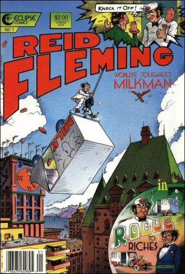 Reid Fleming, World's Toughest Milkman 1-A by Eclipse