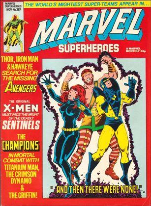 Marvel Superheroes (UK) 367-A