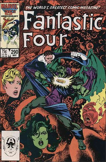 Fantastic Four (1961) 290-A by Marvel
