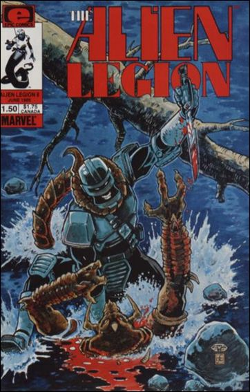 Alien Legion (1984) 8-A by Epic