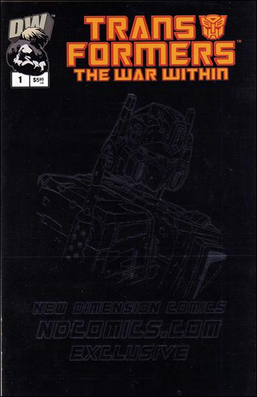 Transformers: The War Within 1-D by Dreamwave
