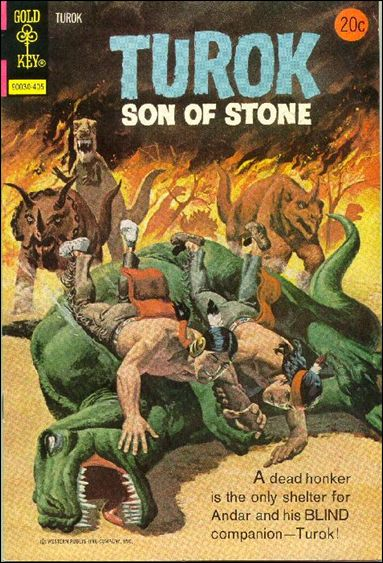 Turok, Son of Stone (1956) 90-A by Gold Key