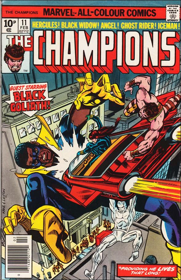 Champions (1975) 11-B by Marvel