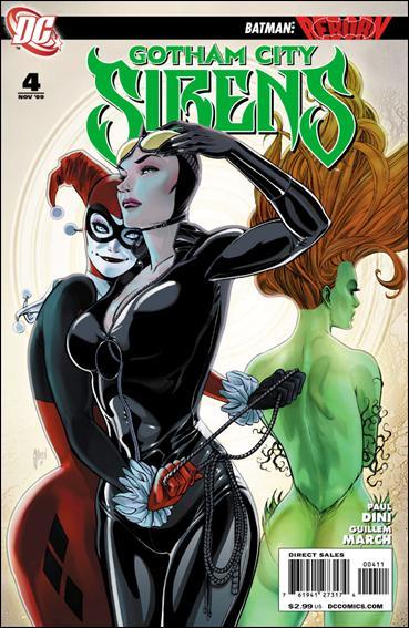 Gotham City Sirens 4-A by DC
