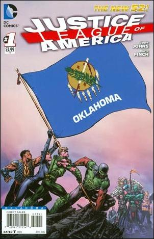 Justice League of America (2013)  1-NK by DC