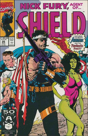Nick Fury, Agent of S.H.I.E.L.D. (1989) 26-A by Marvel
